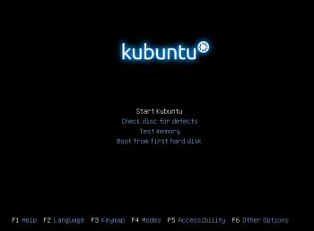 Installation de Kubuntu