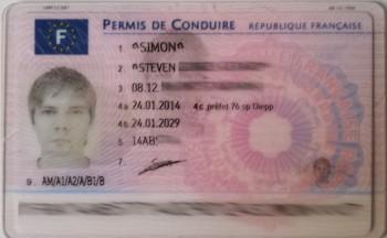 Nouveau permis de conduire 2013