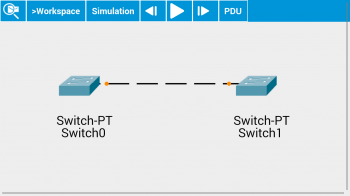 Topologie - Packet Tracer Mobile