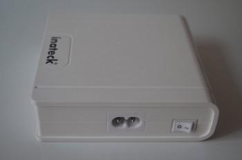 Chargeur USB UC4002 d'Inateck, interrupteur