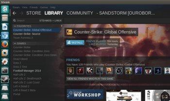 CS:GO est disponible sous Linux