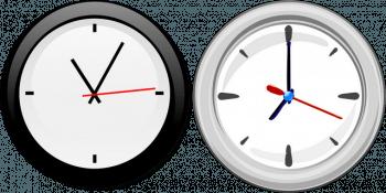 Horloges : décalage horaire