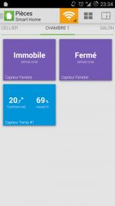 Archos Smart Home : Application smartphone et tablette