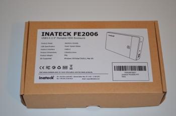 Emballage du boitier 2.5 USB 3.0 d'Inateck