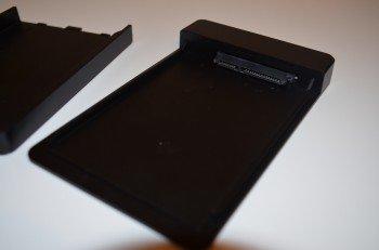 Boitier 2.5 USB 3.0 d'Inateck : intérieur