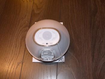 Philips HF3520 : le haut-parleur du réveil