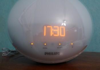 Philips HF3520 : affichage de l'heure
