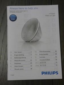 Philips HF3520 : le manuel du réveil