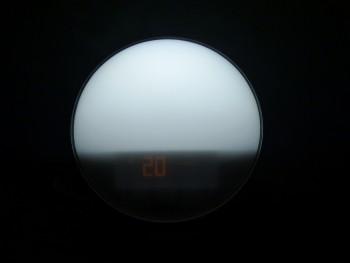 Philips HF3520 : lumière niveau 20