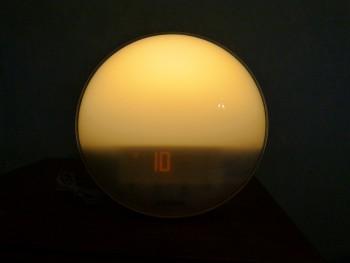 Philips HF3520 : lumière niveau 10