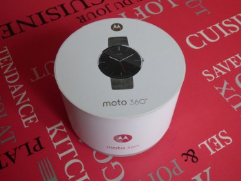 Moto 360 : la boîte