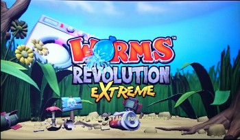 Worms Revolution Extreme sur le PS TV