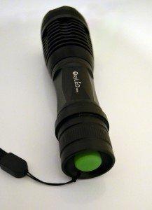 Le bouton vert de la OxyLED MD50