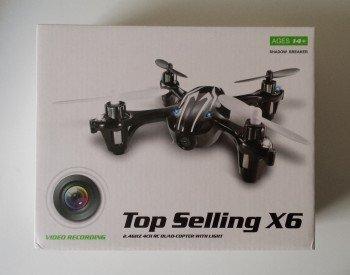 La boîte du nano drone X6 H108C