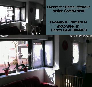 Comparaison entre deux caméras IP Heden pour l'intérieur
