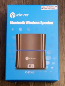 La petite enceinte Bluetooth signée iClever