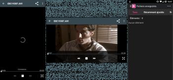 Chargement - Lecture de vidéo - Enregistrements vidéo