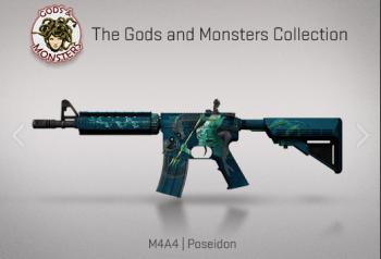 Opération Bloodhound : M4A4 Poseidon