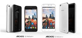 Archos 50 Helium Plus et 55 Helium Plus : sortie en juillet 2015