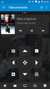 Le télécommande Android pour Kodi