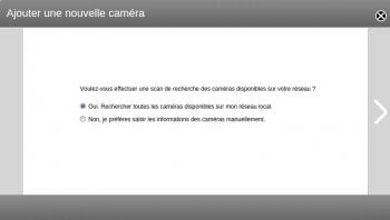 Deux modes pour ajouter une caméra dans Surveillance Center