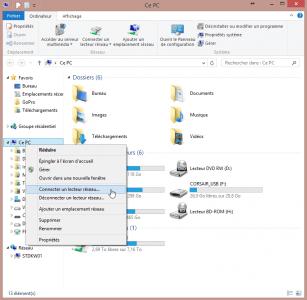 Connecter un lecteur réseau sous Windows