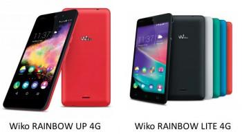Rainbow Up 4G (à gauche) et Rainbow Lite 4G (à droite)