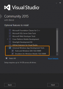Visual Studio 2015 permet de développer des applications universelles
