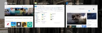 Win10 permet d'avoir plusieurs bureaux virtuels pour répartir ses applications
