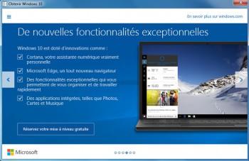 Microsoft rappelle les grandes nouveautés de son nouveau système