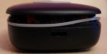 Ouvrir l'émetteur pour accéder à la pile