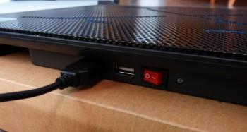 Le refroidisseur possède deux ports USB