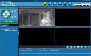 Le logiciel Heden permet de visualiser ses caméras en live.