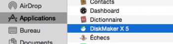 DiskMaker est maintenant disponible dans Applications