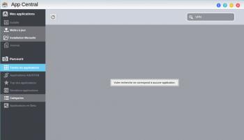 Pas de paquet VPN Server dans le magasin d'applications