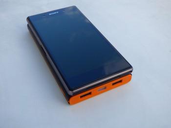 La batterie possède les mêmes dimensions qu'un smartphone à écran 5 pouces