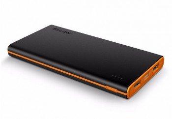 Une batterie portable de 10 000 mAh avec deux ports USB