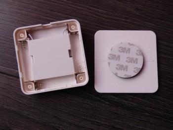 Les veilleuses s'ouvrent facilement pour insérer les piles