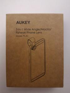 La boîte des lentilles pour smartphone