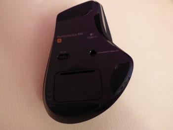 Sous la souris : le capteur laser Darkfield  et l'interrupteur