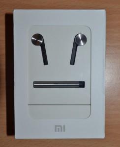 La boîte des écouteurs de Xiaomi