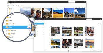 PhotoGallery est l'application de gestion des photos sur les NAS Asustor