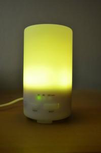 En fonctionnement, avec LED jaune