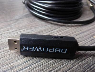 La caméra se connecte à un PC via USB