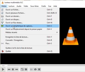 VLC peut accéder à la vidéo de la caméra