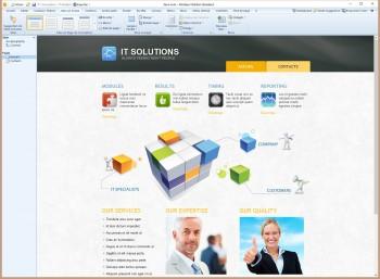 Artisteer est un logiciel de création de thèmes pour CMS