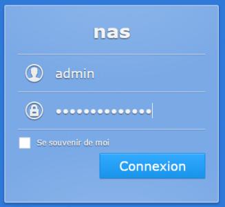 Étape 01 : connectez vous avec un compte administrateur
