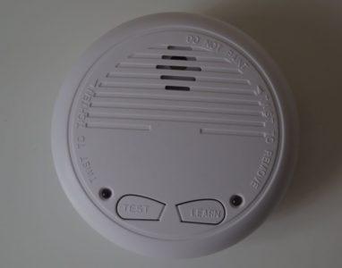 Le CH34131 est un détecteur de fumées connecté