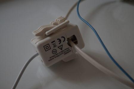 Compteur inaccessible, donc utilisation d'une rallonge où la phase était isolée du neutre