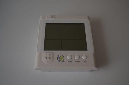 L'écran LCD permet de suivre instantanément et sans fil la consommation électrique